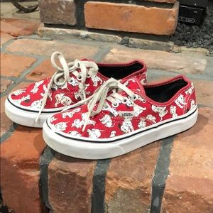 Vans Disney 101 Dalmation lace up sneakers sz 1.5